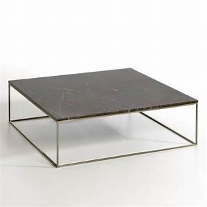 Table Basse Marbre But : table basse effet laiton vieilli marbre mahaut am pm la redoute ~ Teatrodelosmanantiales.com Idées de Décoration