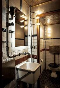 Salle De Bain Style Industriel : salle de bain style industriel ~ Dailycaller-alerts.com Idées de Décoration