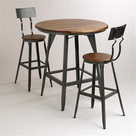 small round bar table loft mining retro style furniture wrought iron tables and