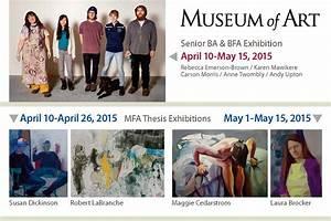 Senior BA & BFA/MFA Thesis Exhibition Schedule – unh.vrc