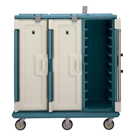 cambro mdc1418t30192 granite green 3 compartment meal