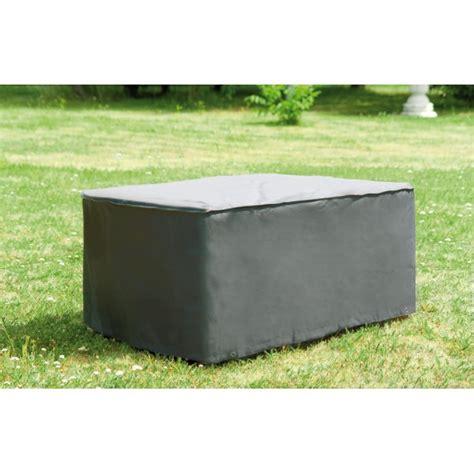 housse de protection pour canapé de jardin housse protection grise 240 x 200 x 95cm prenium pour