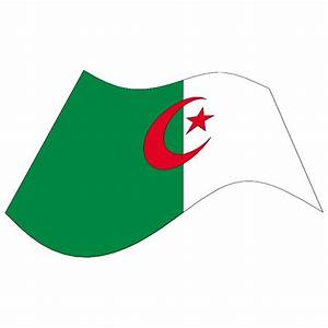 ALGERIA WAVY VECTOR FLAG - Download at Vectorportal
