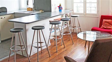 cuisine ouverte avec comptoir meuble bar pour cuisine ouverte nos conseils côté maison