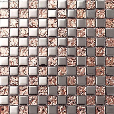 pink home 3d floor tile mosaic dgmm012 metal kitchen
