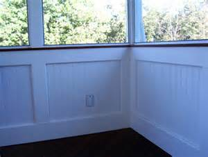 wainscoting ideas for bathrooms screen rooms with bead board knee wall traditional porch st louis by heartlands building