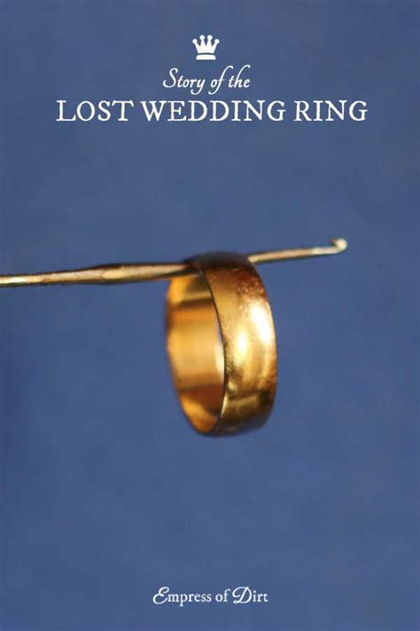 story of the lost wedding ring empress of dirt