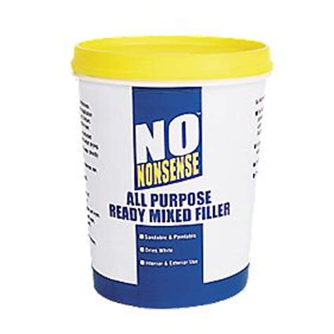 nonsense  purpose ready mixed filler white kg