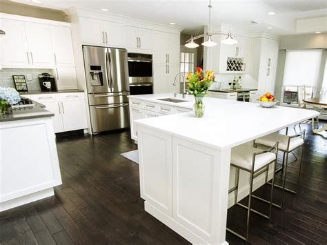 kitchen island l shaped before and after l shaped kitchen remodels kitchens