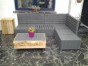 Palette De Bois : emejing idee salon de jardin original contemporary ~ Premium-room.com Idées de Décoration