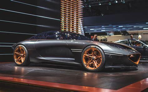 Fully Electric Sports Car by Genesis Essentia Sports Coupe Is A Fully Electric Car And