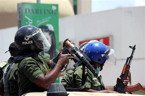 Police In Zambia Stormed A Mans Hosue Because He Was