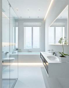 Modern white bathroom interior design ideas for White bathrooms