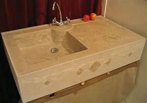 Evier Cuisine En Pierre : evier en pierre en pierre tailleur de pierre ~ Premium-room.com Idées de Décoration