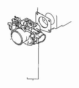 1994 Toyota 4runner Fuel Injection Throttle Body Mounting