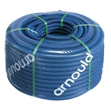 gaine 233 lectrique icta courant fort avec tire fils 100m turbogliss bleu arnould bricozor