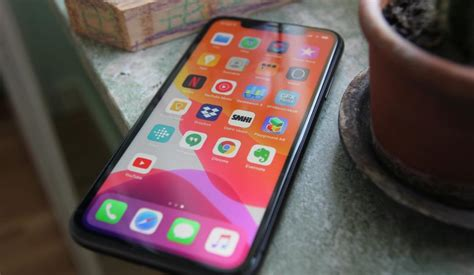 test apple iphone med framtiden foer sig mobil