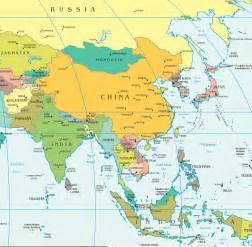 Taiwan On Asia Map
