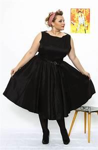 Kleider In Größe 50 : rita 50s kleid schwarz ~ Eleganceandgraceweddings.com Haus und Dekorationen