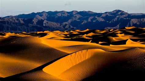 Stunning view of China's fourth largest desert - CGTN