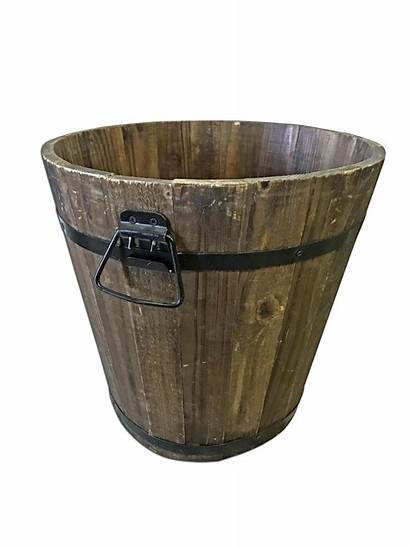 Bucket Wooden Prop Platinum