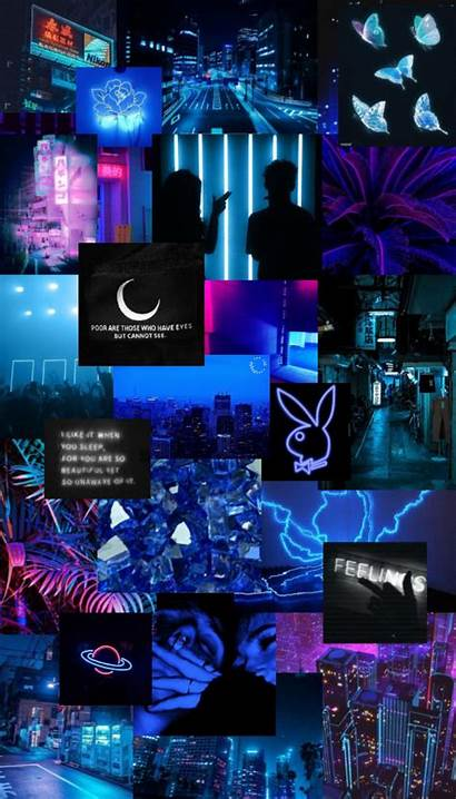 Aesthetic Neon Iphone Collage Ios Wallpapers Phone