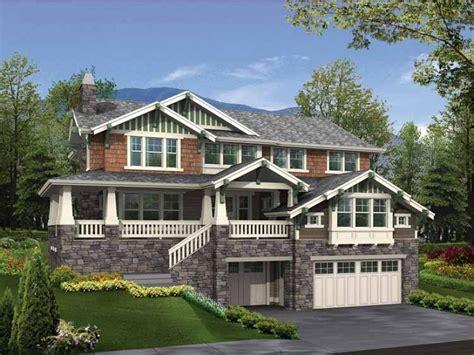 modern house plans  hillside drive  garage pros  cons modern house plans  hillside