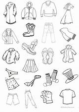 Clothes Flashcards Clothesline Worksheets Mini Printable Worksheet Printables Esl Coloring Activities Template Templates Islcollective Beginner Classroom Screen sketch template
