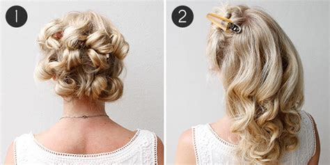 diy your wedding day hairstyle with this braided updo