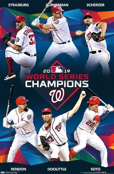 mlb  world series washington nationals champions