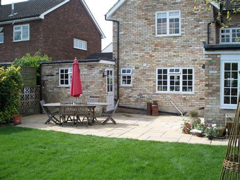 Back Garden Patio back garden patio baldock rw landscapes innovative