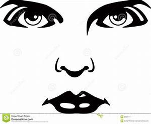 Best Photos of Sad Eyes Clip Art Nose And Mouth - Black ...