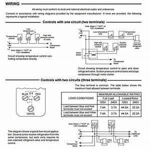 Thermostat  U2013 Refrigeration Temperature Control  U2013 1609101s1