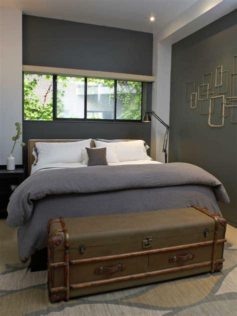 coffre chambre 40 idées pour le bout de lit coffre en images
