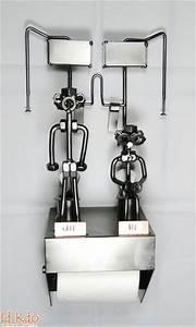 Dévidoir Papier Toilette : d vidoir mural papier toilette wc in out hinz kunst ~ Nature-et-papiers.com Idées de Décoration