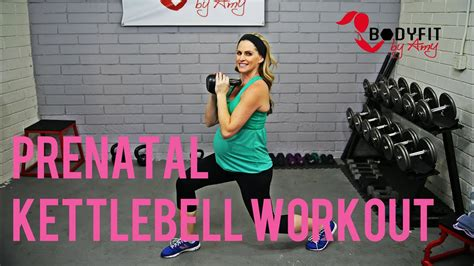 kettlebell workout minute pregnancy trimesters prenatal 3rd 2nd 1st