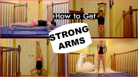 How To Get Strong Arms! Youtube