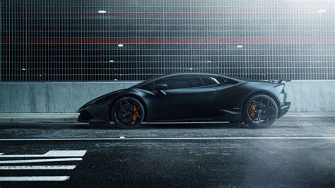 Lamborghini Huracan Vellano Mc Matte Black 4k Wallpaper