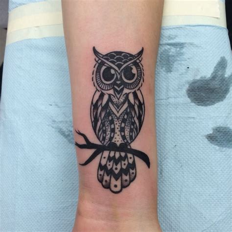 owl tattoo  forearm designs ideas  meaning tattoos