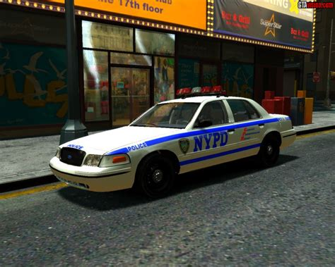 nypd equipment section ford crown nypd precinct version gta iv