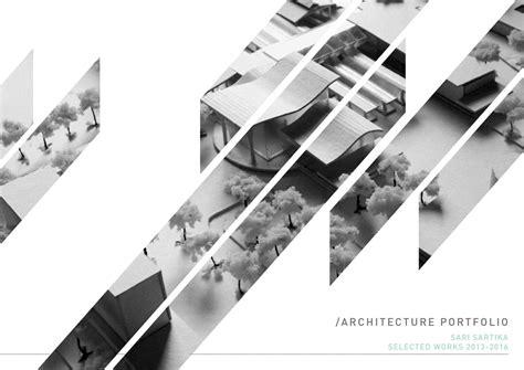 architecture portfolio    sari sartika issuu