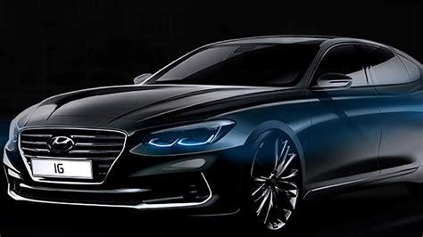 Superb Hyundai Azera Black Car | HD Wallpapers