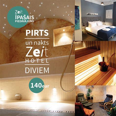 Pirts un nakts Zeit Hotel diviem - Zeit