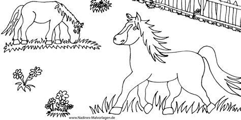 Ausmalbilder Pferde Mit Fohlen Kostenlos