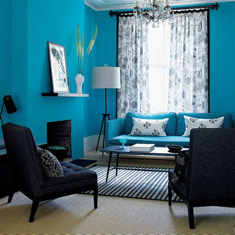 Living Room Color Schemes With Turquoise by Interesting Blue Color Schemes For Living Room