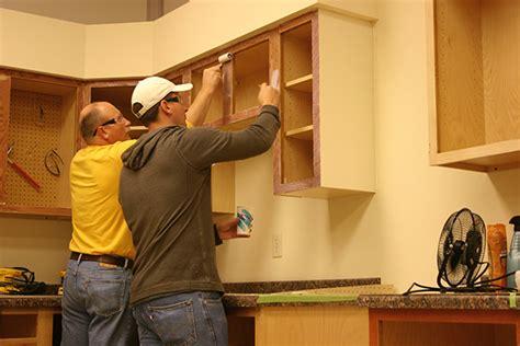 kitchen cabinet refacing veneer cabinet refacing with painted solidtone veneer 5707