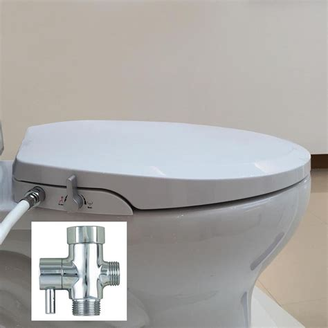 Bidet Style Toilet Seat by Hibbent Non Electric Toilet Bidet Seat With Cover