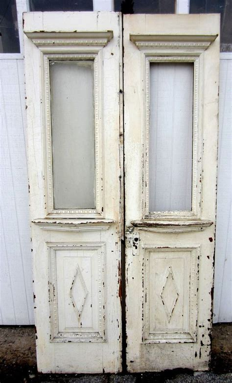 antique french double doors video
