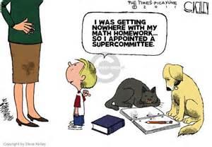 Political Cartoon About Homework