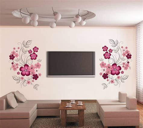 wall stickers flowers home decoration wall decals cm